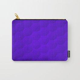 Purple Bubble Pattern Carry-All Pouch