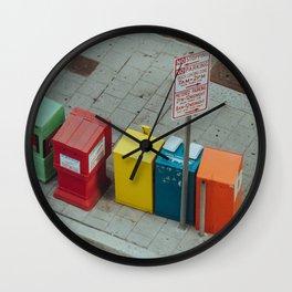 Bright City Wall Clock