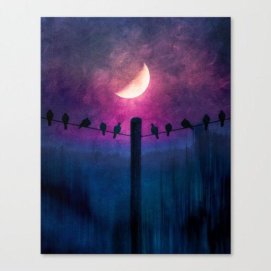 Symphony (colour option) Canvas Print