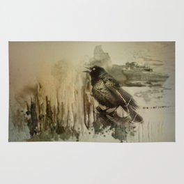 Call Of The Grackle Rug