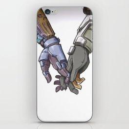 Hands iPhone Skin
