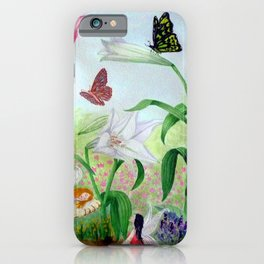 Fairy Garden#1 iPhone Case