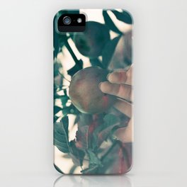 The Forbidden Fruit iPhone Case