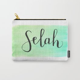 Selah - Watercolor Carry-All Pouch
