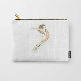 Original Ballet Dance Drawing Carry-All Pouch