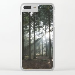 Shafts of Sunlight Clear iPhone Case