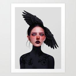 Jane Doe Art Print