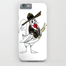 Mexican Mariachi-cken pattern style kawaii iPhone Case