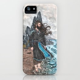 Njord Lord of the tides iPhone Case