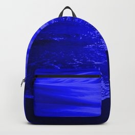 Bright Reflections Night Seascape Backpack