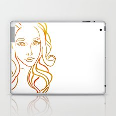 Yellow Portrait Laptop & iPad Skin