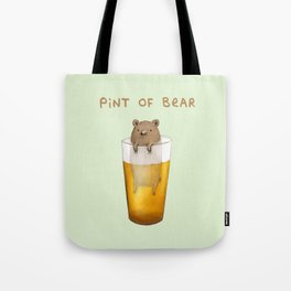 Pint of Bear Tote Bag