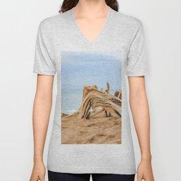 beached wood Unisex V-Neck