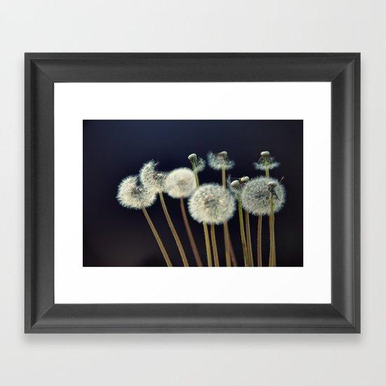 {wishes} Framed Art Print