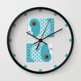 Koinobori | Aqua Wall Clock