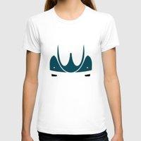 volkswagen T-shirts featuring Volkswagen Beetle by Nick Steen