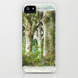 Standing Strong - Autumn Art iPhone Case
