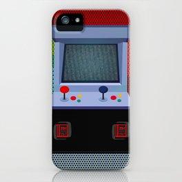 Retro Arcade Joystick Video Game iPhone Case