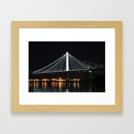 New San Francisco Oakland Bay Bridge  Framed Art Print