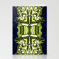 moulin rouge Stationery Cards featuring Moulin Vert by Carter Herrington