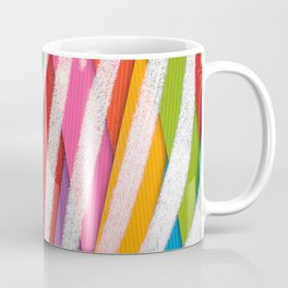 What colour are my stripes ? Coffee Mug