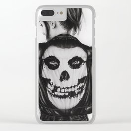 The Crimson Ghost Clear iPhone Case