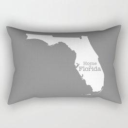 Home is Florida - Florida is home Rectangular Pillow