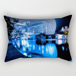 Montreal Biophere Night Edition Rectangular Pillow