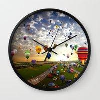 balloon Wall Clocks featuring balloon by Sjaefashion