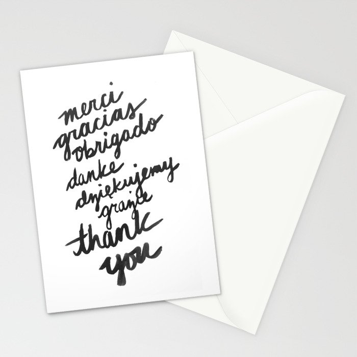 ...Thank You Stationery Cards