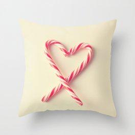 Candy Kiss Throw Pillow