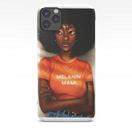 Melanin Mami iPhone Case