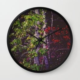 October Forest Wall Clock
