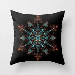Substance of the Universe Mandala Throw Pillow