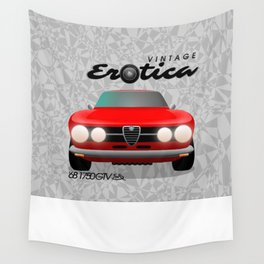 Vintage Erotica: 1750 GT Veloce Wall Tapestry