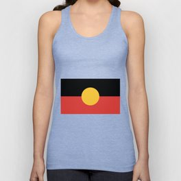 Australian Aboriginal Flag Unisex Tank Top