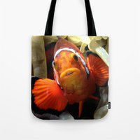 nemo Tote Bags featuring Nemo  by RevatiN