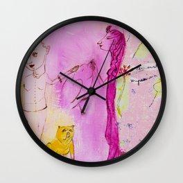 Dale de comer a las doce Wall Clock