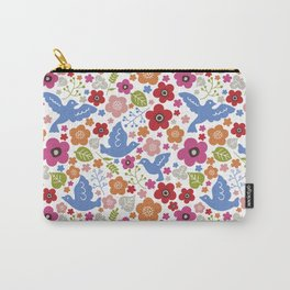 Fly with flowers Carry-All Pouch
