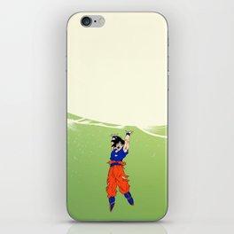 Believe in Goku iPhone Skin