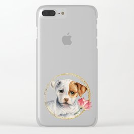 Flower Child 2 Clear iPhone Case
