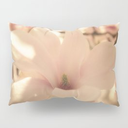 Magnolias Pattern Pillow Sham