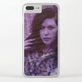 Lisa Marie Basile, No. 91 Clear iPhone Case