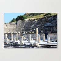 theater Canvas Prints featuring Theater  by Allisa Thome