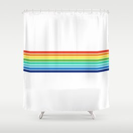 Vintage T-shirt No14 Shower Curtain