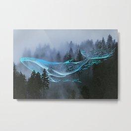 Whale Music Metal Print