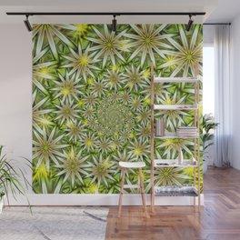 Flower Spirals Wall Mural