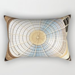 Circles Within Circles Rectangular Pillow