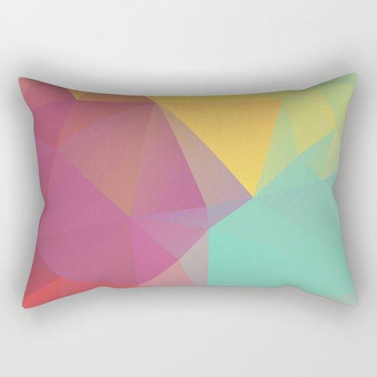 Geometric XI Rectangular Pillow