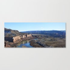 Horsethief Canyon from Lion's Loop Canvas Print